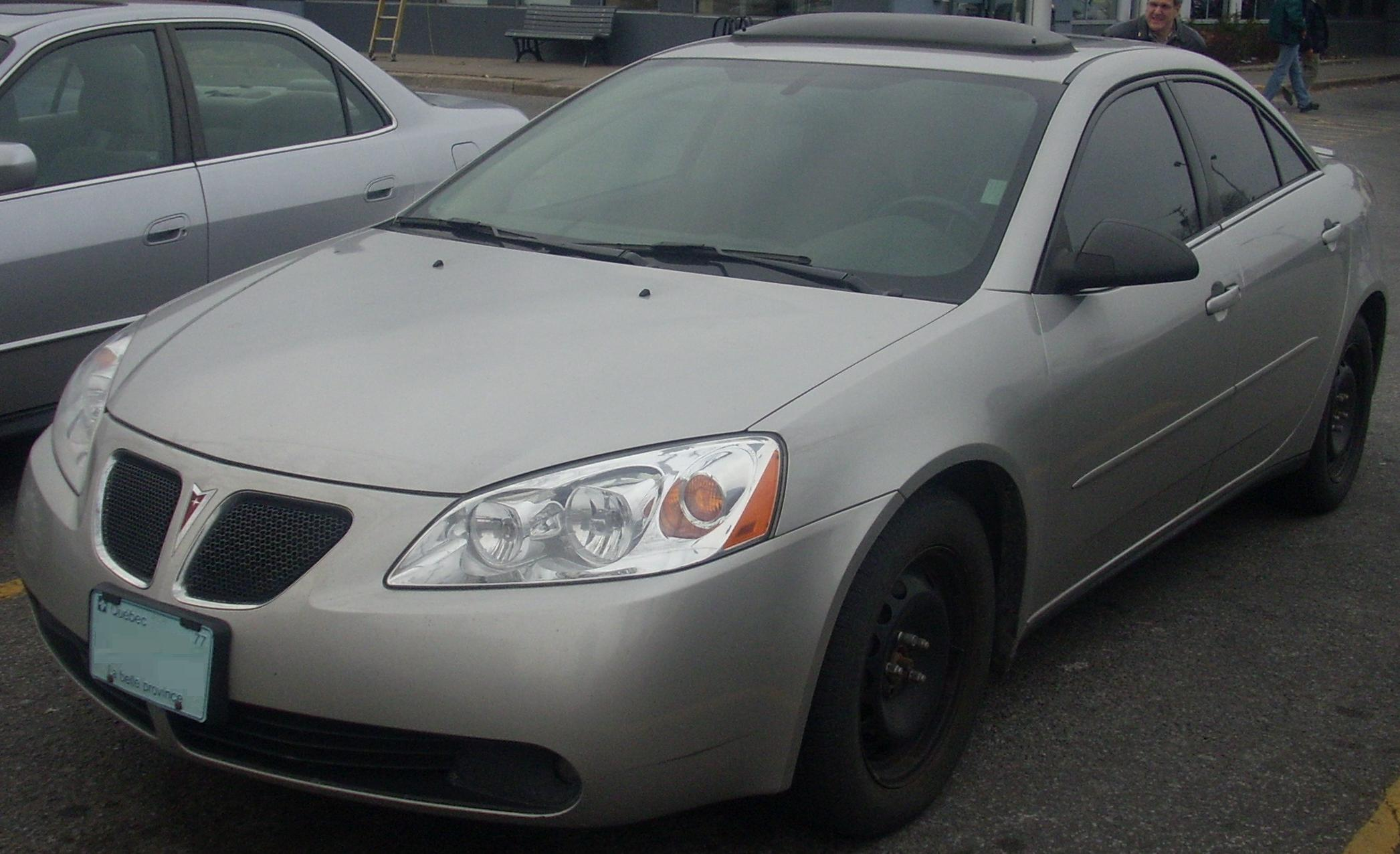 Pontiac G6 - The Crittenden Automotive Library